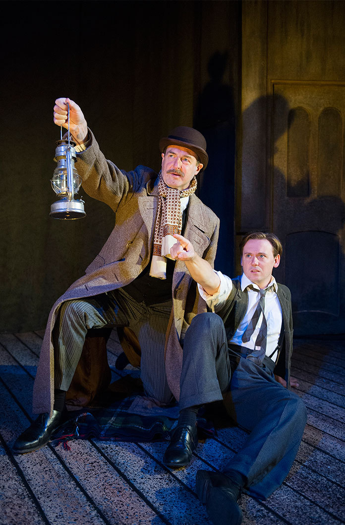 the woman in black theatre review essay An inspector calls review at playhouse theatre,  stephen daldry's 1992 national theatre production of an  bringing news of a young woman's suicide in.
