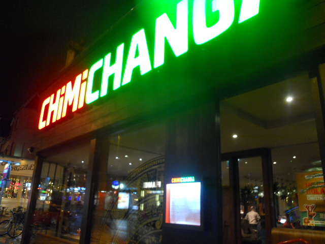 Chimichanga, mexican, restaurant, food, wimbledon