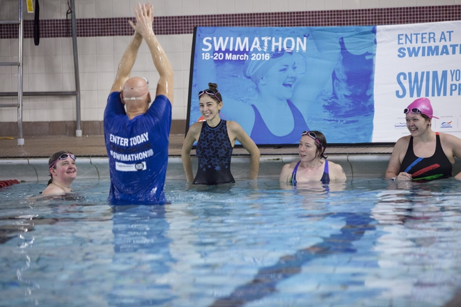 Duncan Goodhew, Swimathon 2016