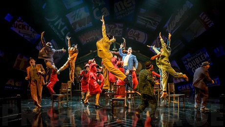 Guys & Dolls, musical, UK Tour, Birmingham, London, Liverpool, Manchester