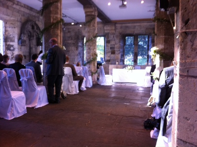Hospitium, York, Museum Gardens, wedding venue
