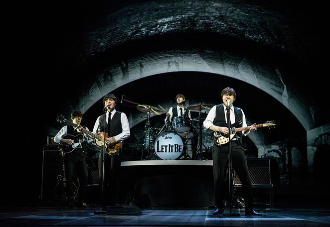 Let It Be, Beatles, Birmingham, tour, musical, Birmingham Hippodrome