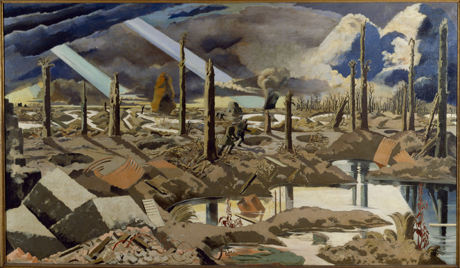 Ralph Vaughan Williams, The Pilgrim's Progress, RNCM, Royal Northern College of Music, Manchester, opera, John Bunyan, First World War, The Menin Road by Paul Nash