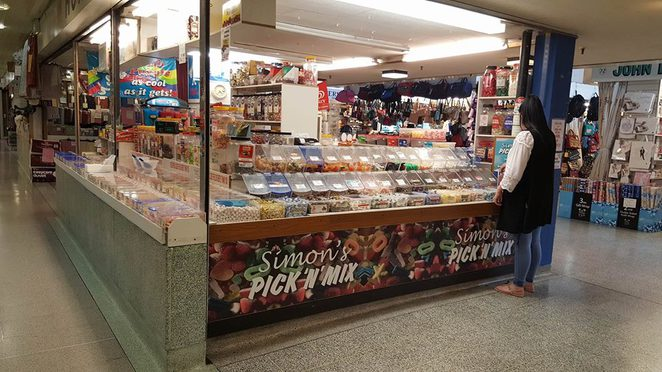 Simon's Pick-n-Mix, Market, Queensgate, Sweets, Huddersfield