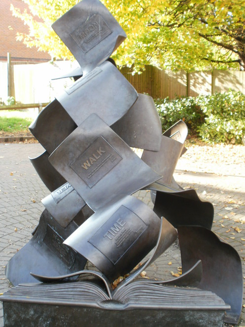 The Formation of Poetry, Lichfield City Sculpture Trail