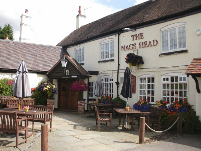 The Nag's Head, Chef and Brewer, Burntwood, Wainwright Ale, Help for Heroes, 16th century