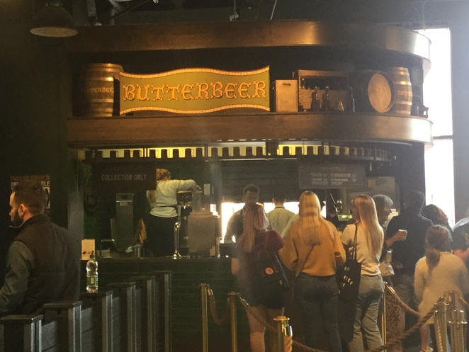 Warner Bros. Harry Potter Studio Tour, Leavesden Studio, butterbeer, ice cream