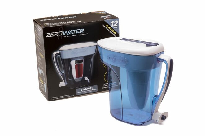 zerowater, water filter jug, ways to stay healthy and drink more