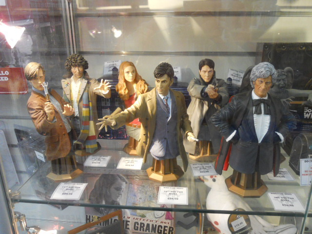 forbidden planet, sci-fi, cult tv, doctor who, bust