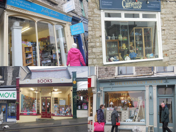 grange over sands, grange, bookshop, curiosity shop