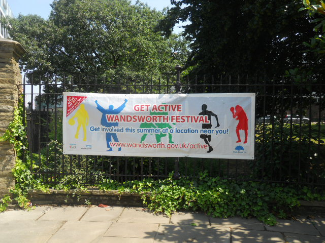 king george's park, get active wandsworth festival