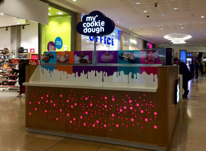 My Cookie Dough, birmingham, bullring, review
