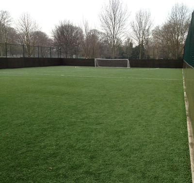 One of the Football Pitches