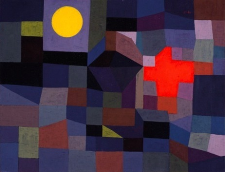 Paul Klee, Fire at Full Moon, 1933, the ey exhibition, making visible, tate