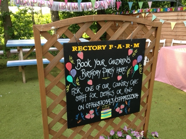 Rectory Farm, Pick Your Own, Bouncy Castle, Birthday Party, Fruit