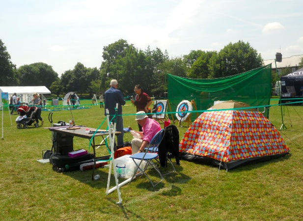 king george's park, get active wandsworth festival, get rhetoric, archery