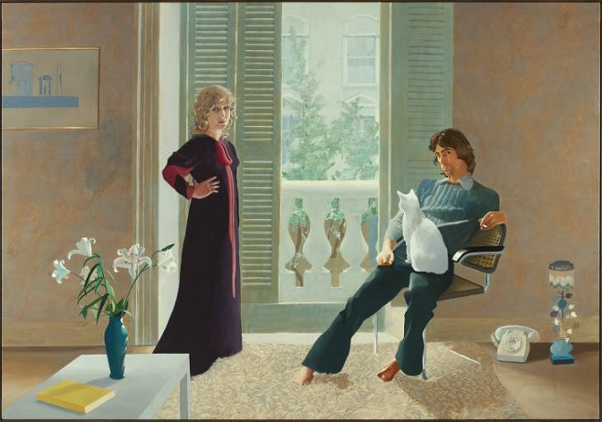 David Hockney's Mr and Mrs Clark and Percy at Tate Britain