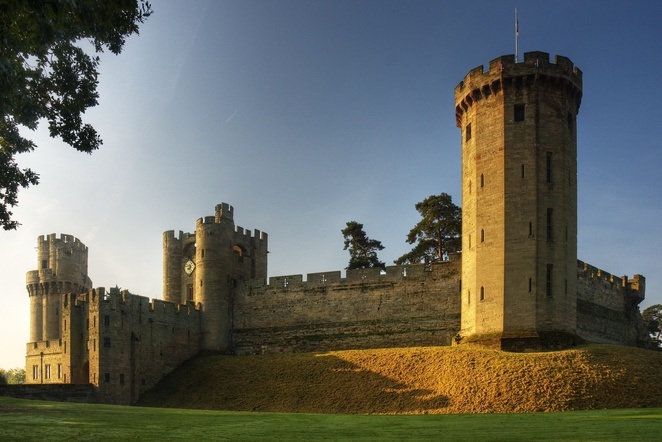 Warwick Castle, half term fun for children near Birmingham