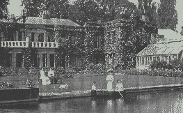 West House Around 100 Years Ago