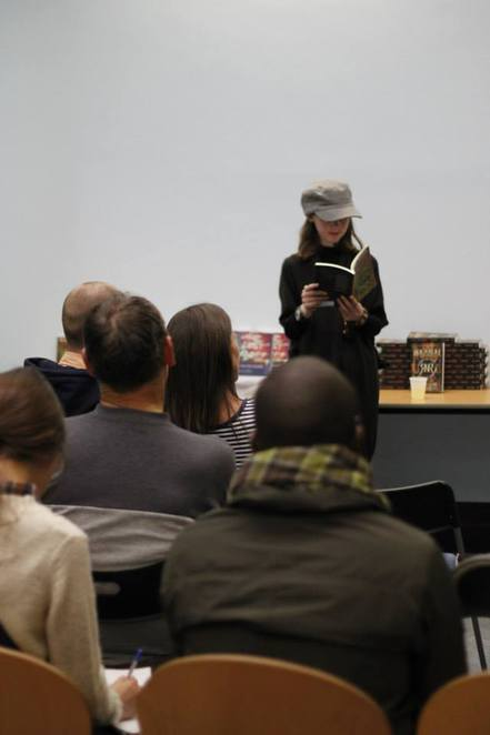 bryony harrison, world book night, poetry reading, poems on the page