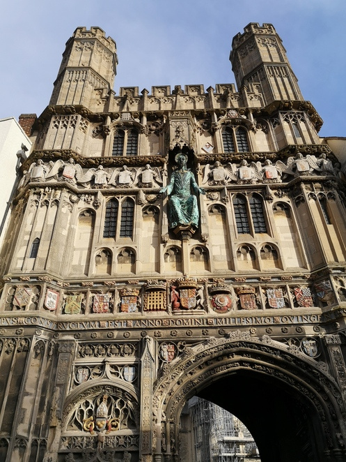 Canterbury Cathedral, Gate, Entrance