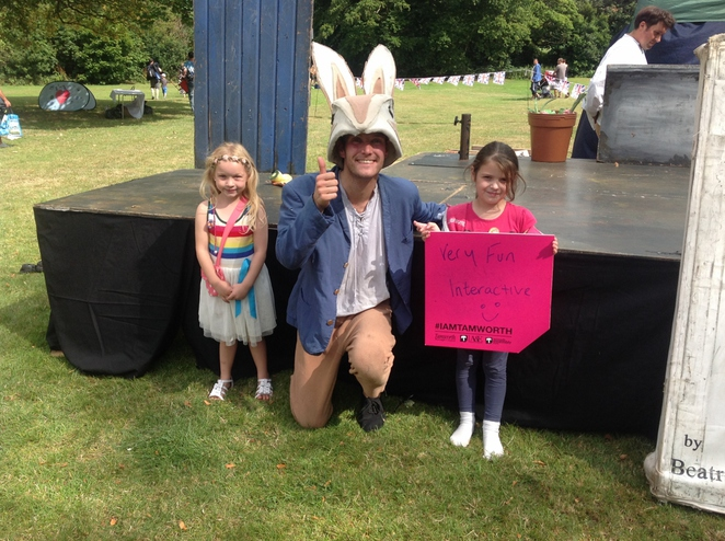 Dosthill Park, Tamworth Borough Council, Quantum Theatre, Peter Rabbit