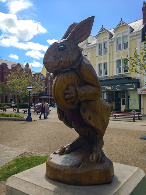 Llandudno, North Wales, North Wales Coast, Day Trips UK, UK, Wales, Visit Wales, Alice in Wonderland, Alice Through the Looking Glass, Mad Hatter, White Rabbit, Lewis Carroll, Alice Liddell, St Tudno Hotel, North Shore