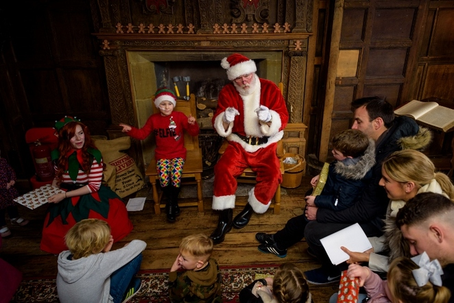 Santa Trail, Tamworth Castle