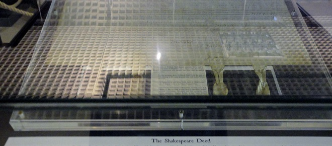 London Metropolitan Archives: Shakespeare and London