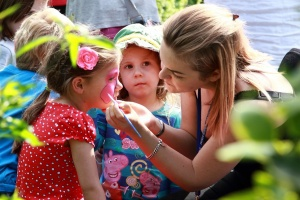 trinity hospice, country fayre, face painting