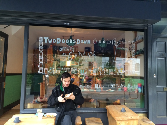 two doors down cafe, two doors down kentish town, two doors down review, two doors down coffee, two doors down brunch, cafes in camden, cafes in kentish town
