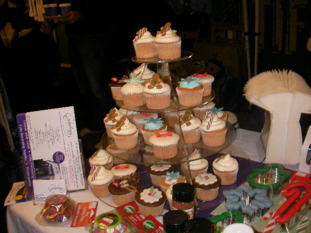 wimbledon winter wonderland, cupcakes
