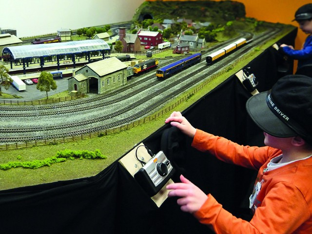 Wonderful World Of Trains And Planes, Birmingham, Easter Days Out, scalextric, model trains