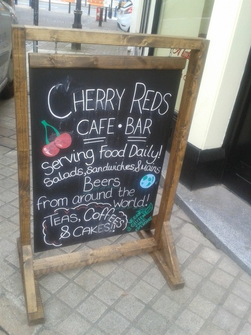 Cherry Reds, cafe, bar,