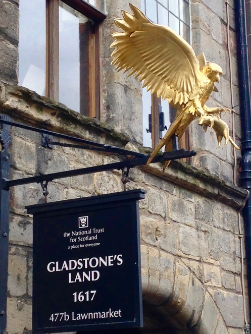 Gladstone's Land, Royal Mile, Edinburgh, museum, history, National Trust for Scotland