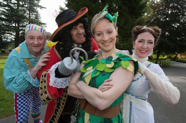 Peter Pan, Panto , Malvern Festival Theatre, review, Weekend Notes,