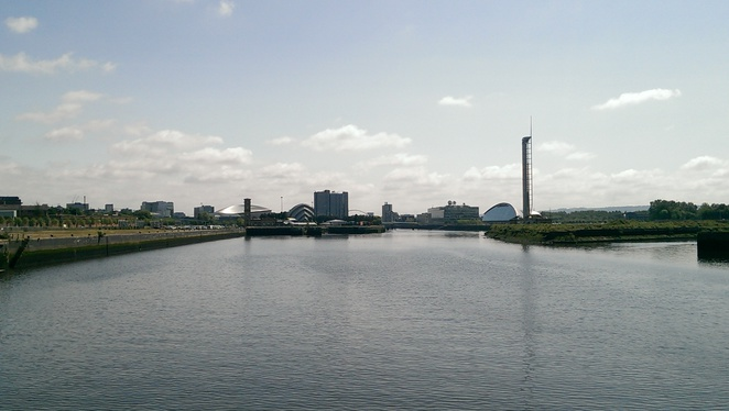 River Clyde, Glasgow, Cycle Route