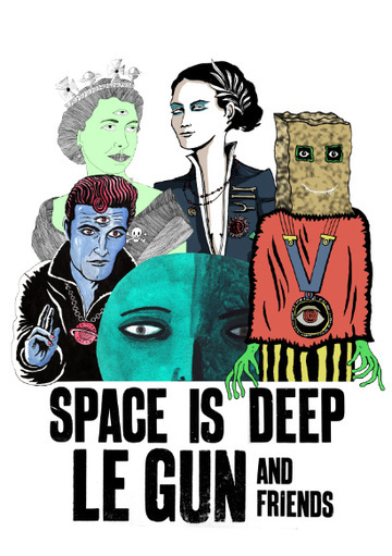 space is deep, le gun