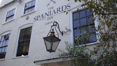 Spaniards Inn,pub London,London pub,Hampstead