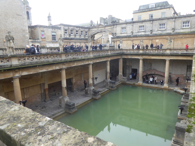 The largest Roman pool