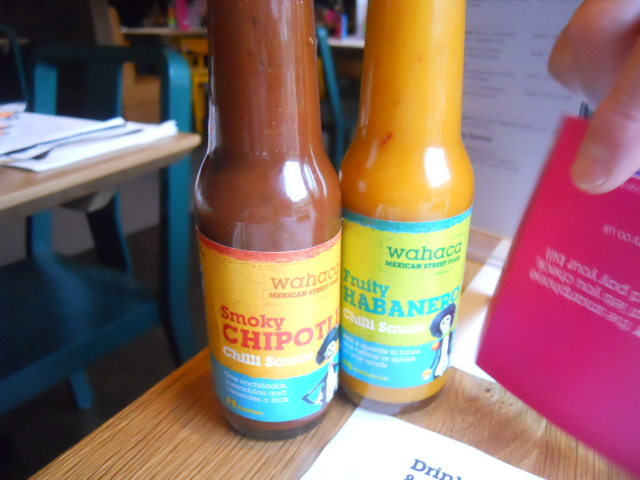 wahaca, wimbledon, mexican market eating, chilli sauce, choplte