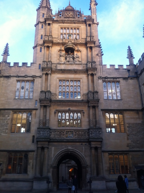 bodleian, library, oxford, tower