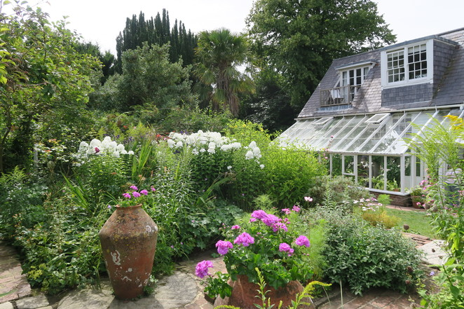 garden at Monks house