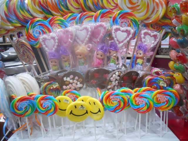 hardys original sweetshop, lolly pops