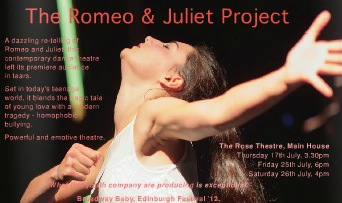 international youth arts theatre, the romeo and juliet project