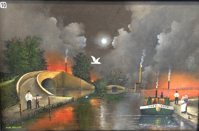 Ken Wood, Dudley Canal Trust, Portal Building, Art Exhibitions, Dudley, Black Country