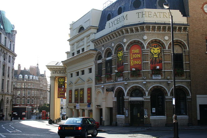 lyceum theatre, the lion king musical