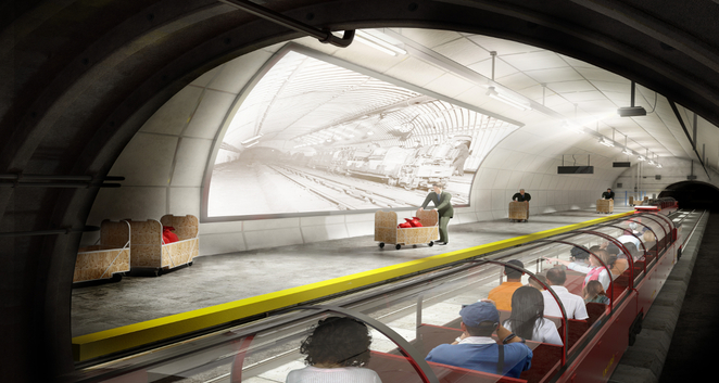 Mail Rail concept design