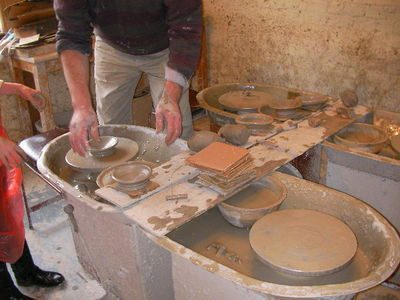 merton abbey mills, watermill, pottery classes