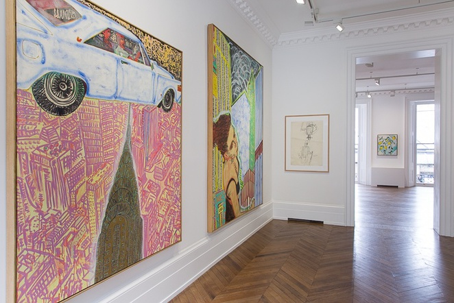 peter doig, early works, michael werner